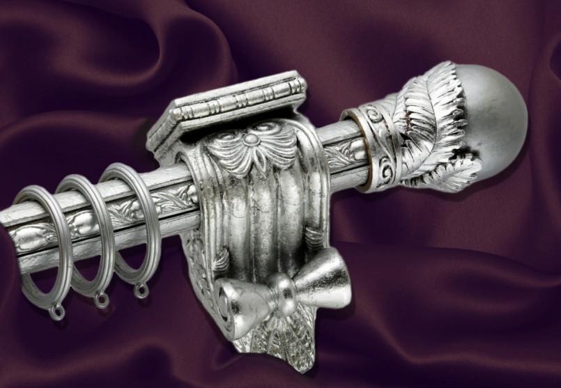 металлические карнизы для штор оформление
