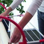 миниатюрная сушилка для белья на балкон
