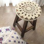 вязаные чехлы на стулья и табуреты варианты идеи