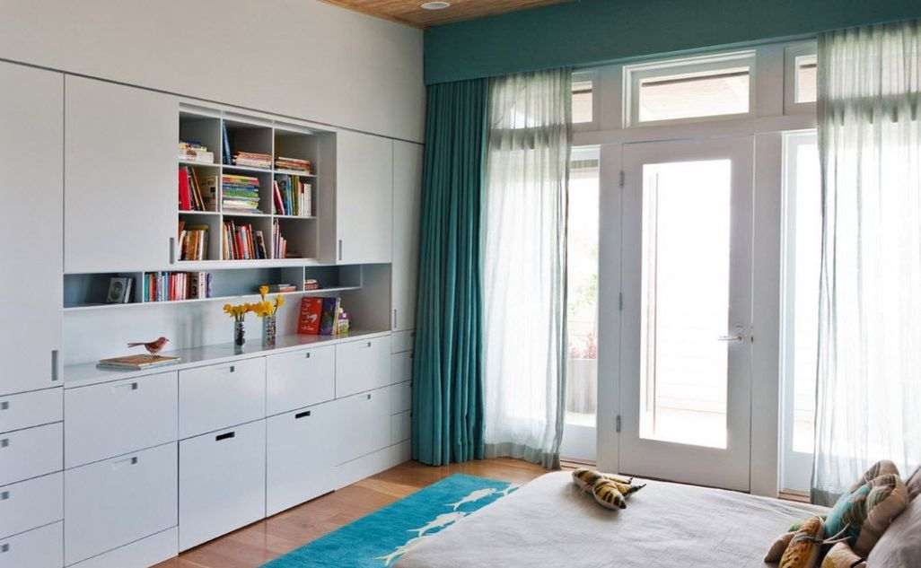 модные шторы в детскую комнату для мальчика
