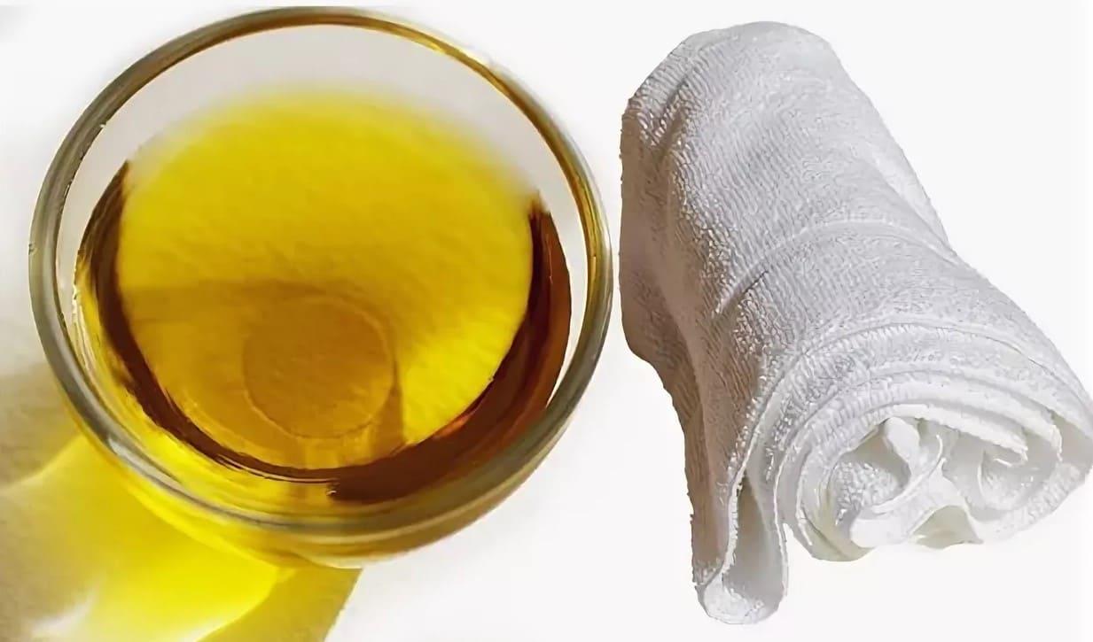 отбеливание растительным маслом