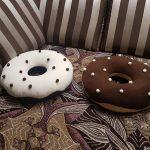 подушка пончик фото декор