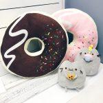 подушка пончик фото дизайна