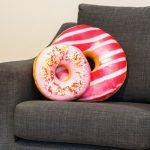 подушка пончик идеи варианты
