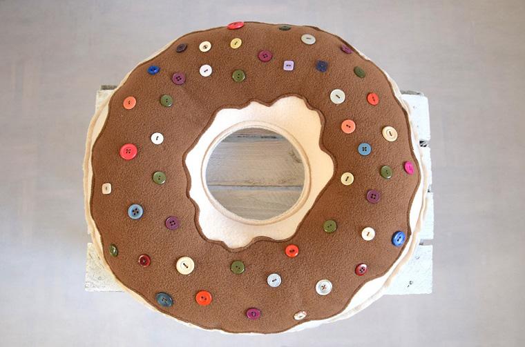 подушка пончик своими руками идеи оформления