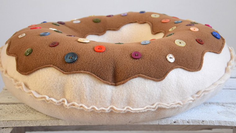 подушка пончик своими руками варианты фото