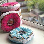 подушка пончик виды фото идеи