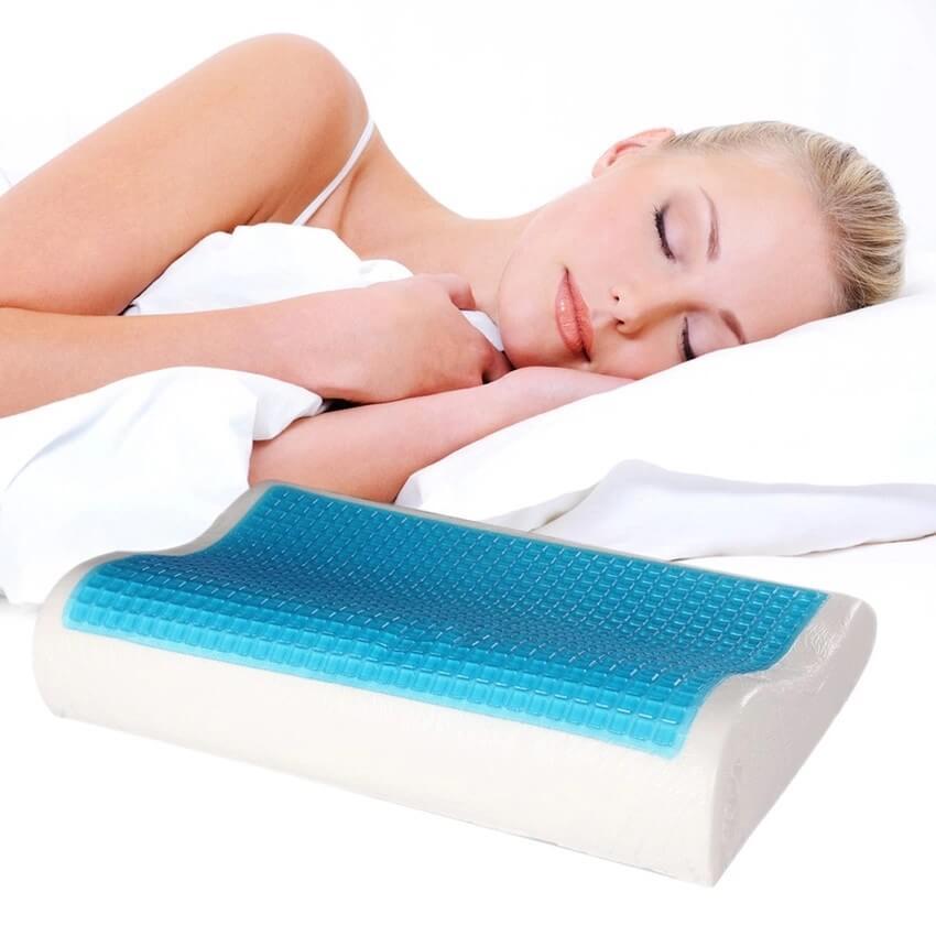 подушка с эффектом памяти фото оформления