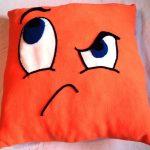 подушка смайлик фото идеи