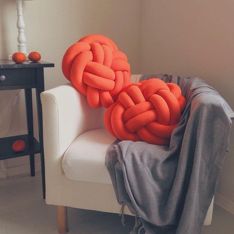 подушка узел фото дизайна