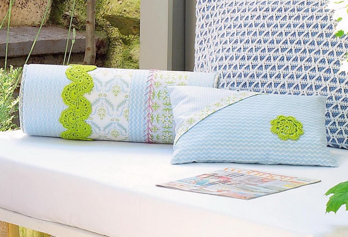 подушка валик дизайн фото