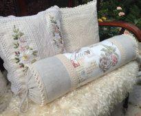 подушка валик фото дизайн