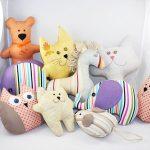 подушки игрушки идеи видов