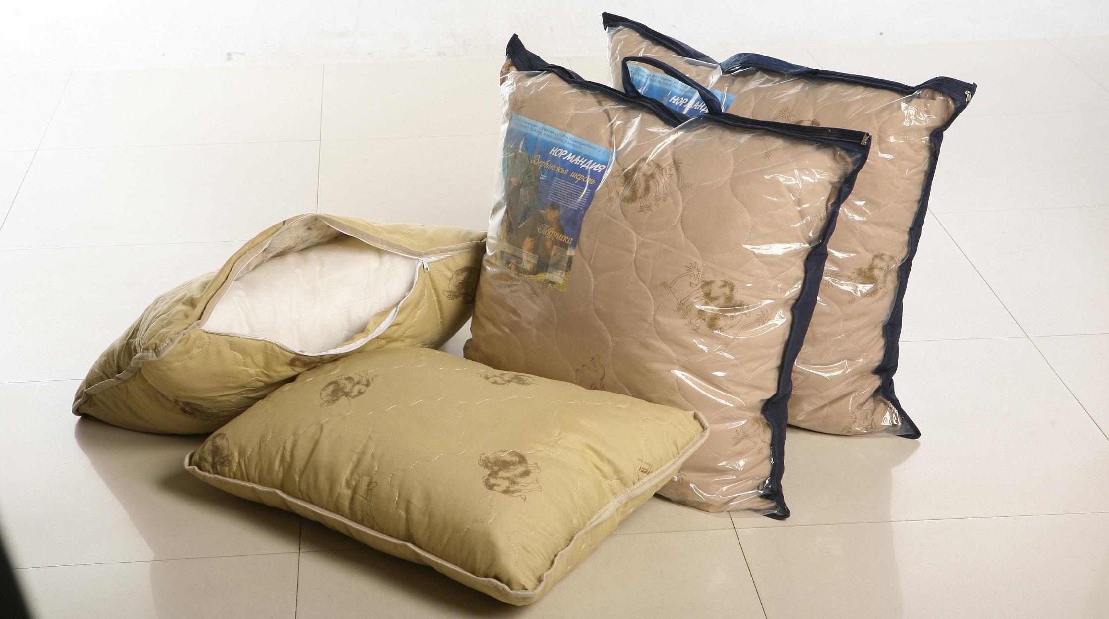 подушки из верблюжьей шерсти фото дизайн
