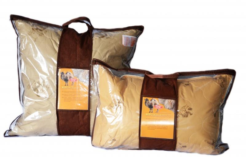 подушки из верблюжьей шерсти дизайн фото