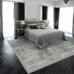 прикроватные классические коврики для спальни фото идеи