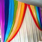 радужные шторы дизайн идеи