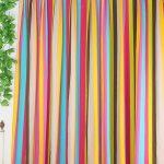 радужные шторы идеи дизайн
