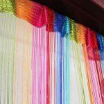 радужные шторы виды декора