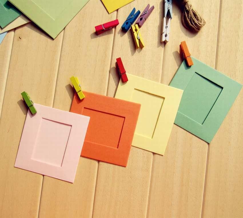 рамка для картины из бумаги