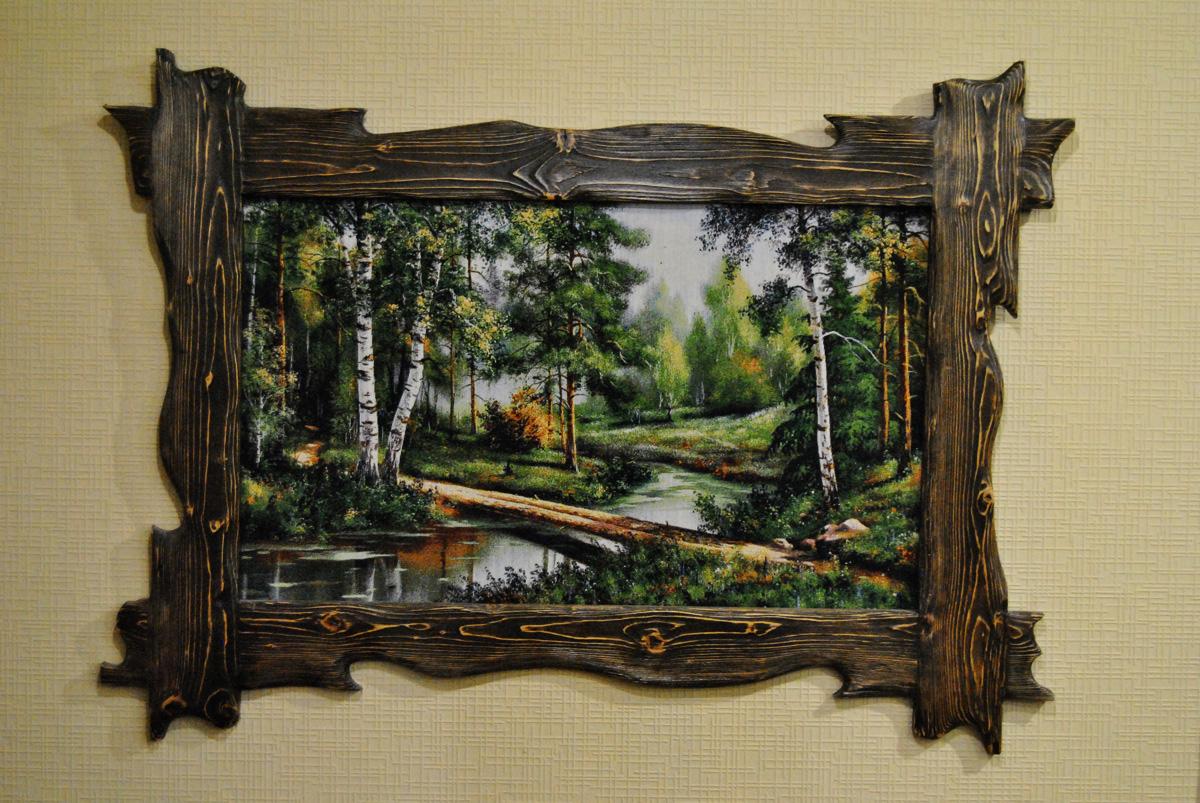 рамка для картины из дерева