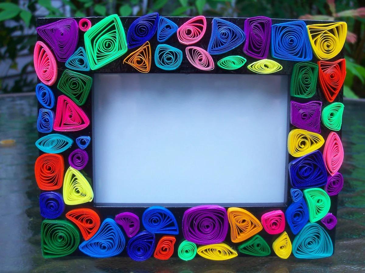рамка для картины из картона декор