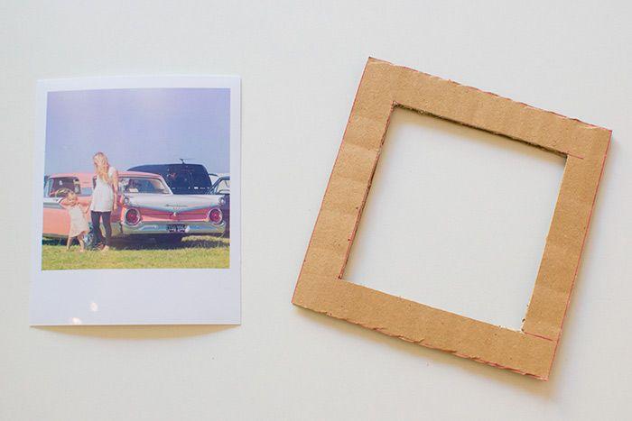 рамка для картины из картона