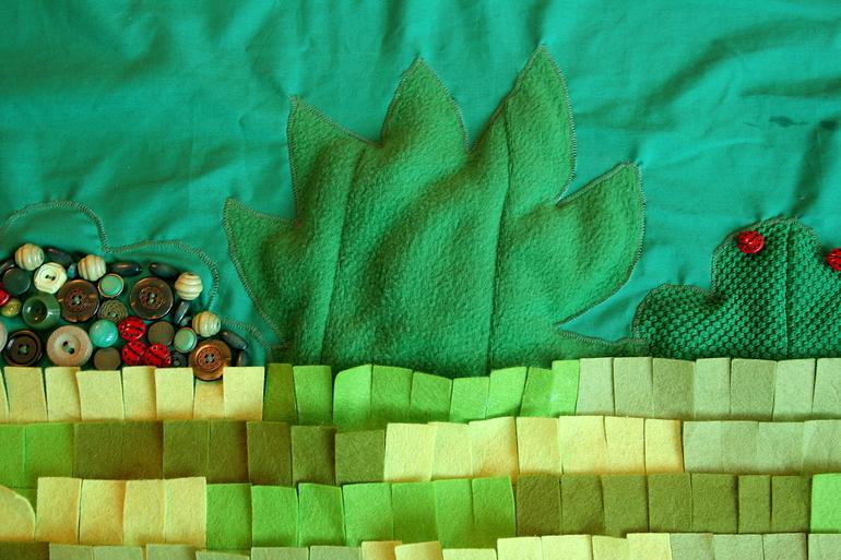 развивающий коврик для детей декор