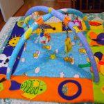 развивающий коврик для детей дизайн фото