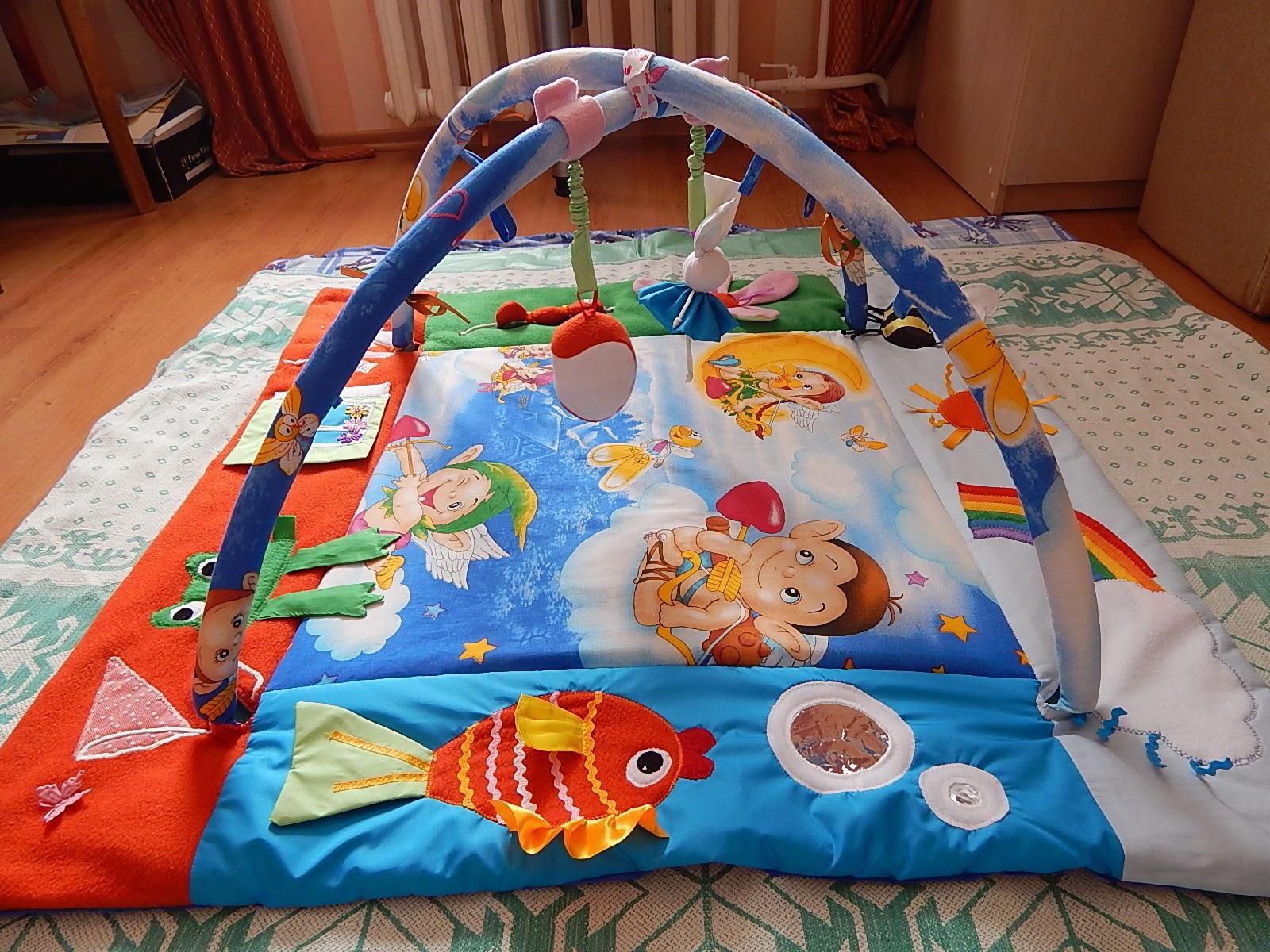 развивающий коврик для детей идеи фото