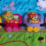 развивающий коврик для детей своими руками варианты