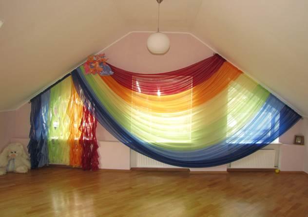шторы радуга