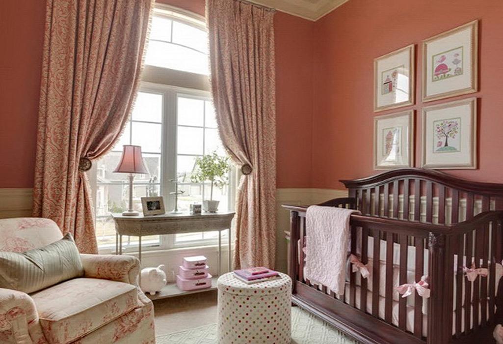 шторы в детскую спальню