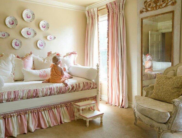 шторы в детскую комнату для девочки дизайн