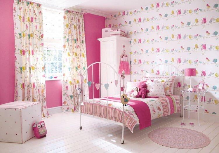 шторы в детскую комнату для девочки фото декор