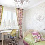 шторы в детскую комнату для девочки фото дизайна