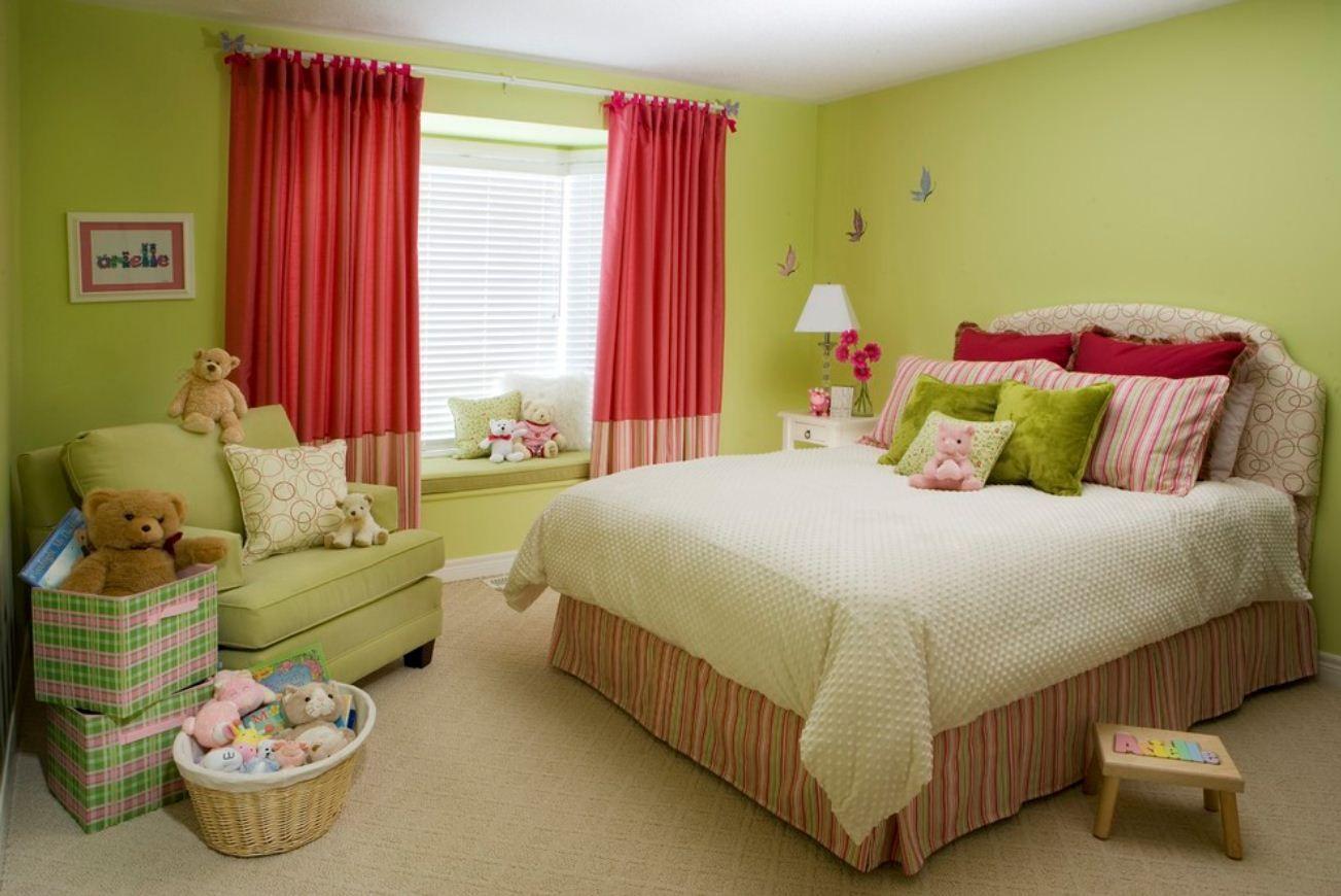 шторы в детскую комнату для девочки фото видов