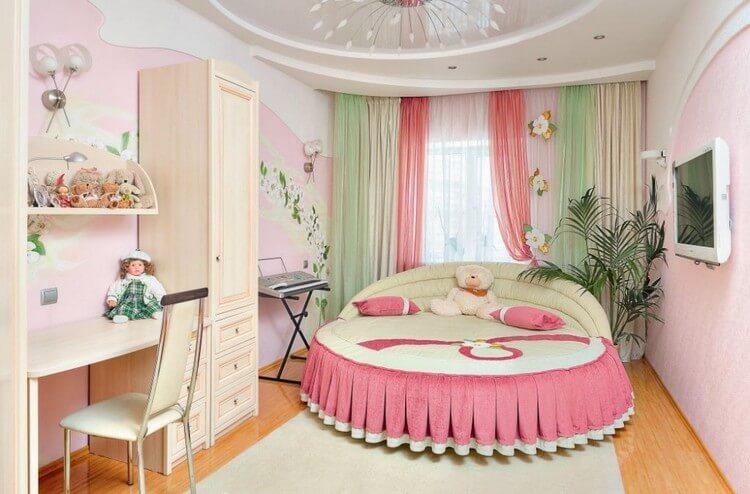 шторы в детскую комнату для девочки идеи фото