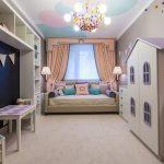 шторы в детскую комнату для девочки идеи интерьера