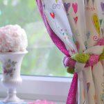 шторы в детскую комнату для девочки идеи оформления