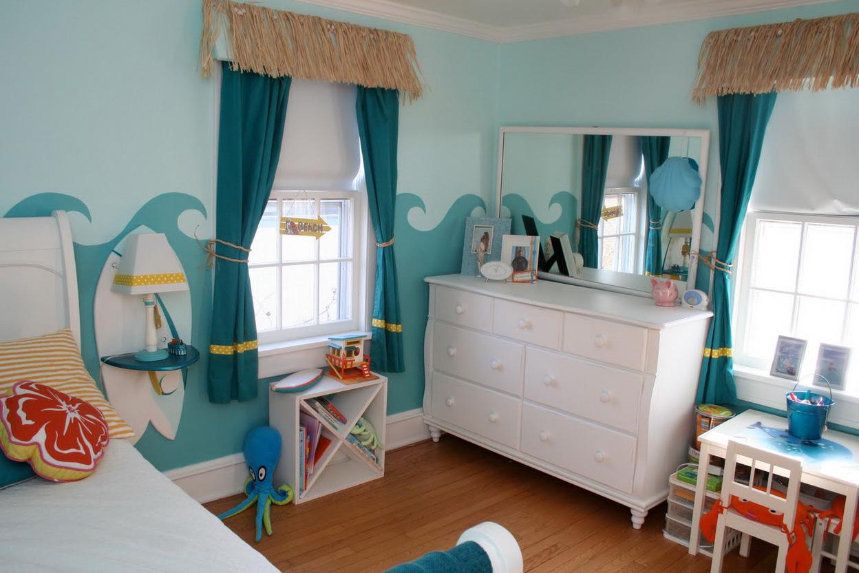 шторы в детскую комнату для девочки виды