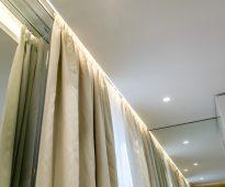 шторы с подсветкой
