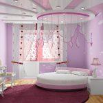 шторы в комнату девочек фото интерьера