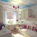 шторы в комнату девочек интерьер идеи