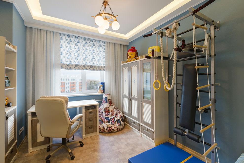 шторы в детскую комнату для мальчика идеи декора