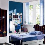 шторы в детскую комнату для мальчика фото интерьера