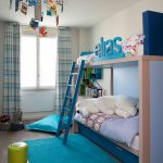 шторы в детскую комнату для мальчика оформление фото