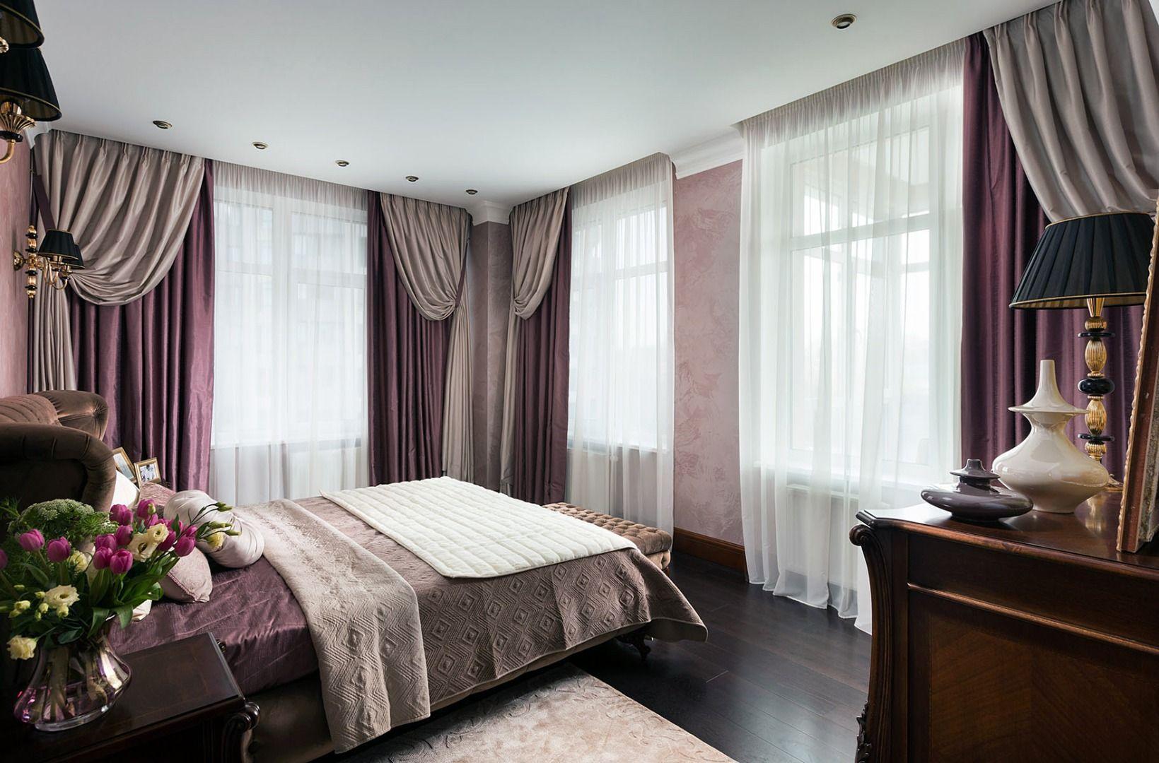 шторы в спальню императорские