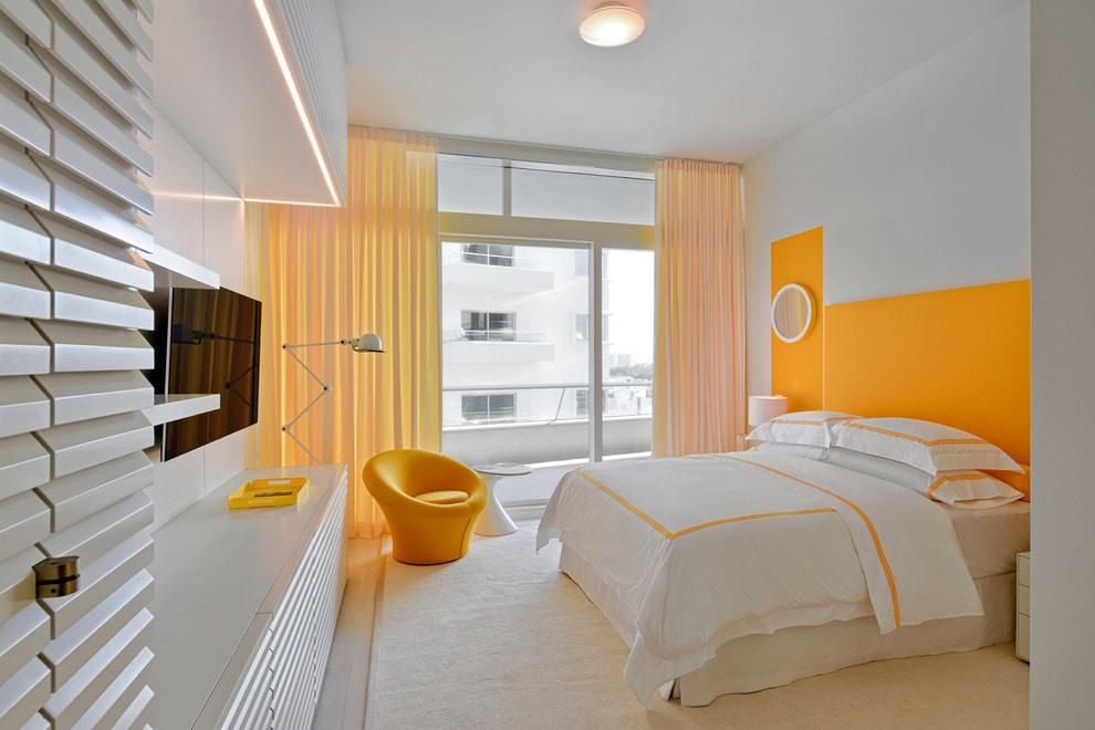 желтые шторы дизайн