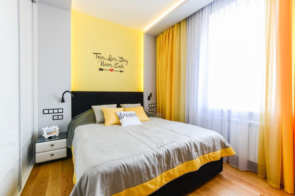 желтые шторы идеи интерьера